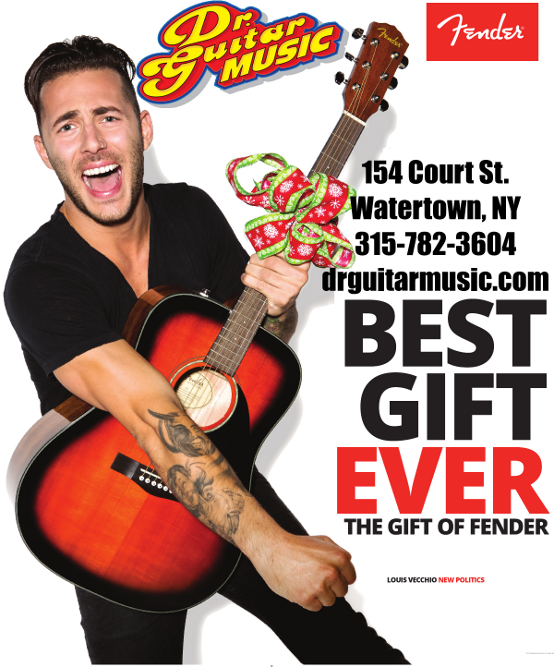 Buy a Fender guitar and give the Best Gift Ever!