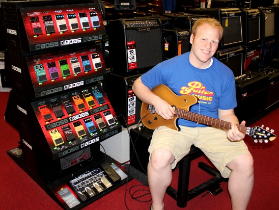 Guitar Lessons with Jason Rodgers at Dr. Guitar Music in Watertown, NY