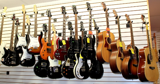 Left Handed Electric Guitars For Sale at Dr. Guitar Music in Watertown, NY