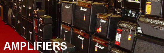 Electric Guitar Amplifiers For Sale at Dr. Guitar Music