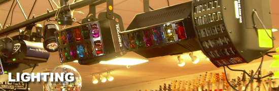 DJ Lighting for sale at Dr. Guitar Music in Watertown, NY